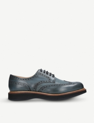 CHURCH Tewin leather derby shoes