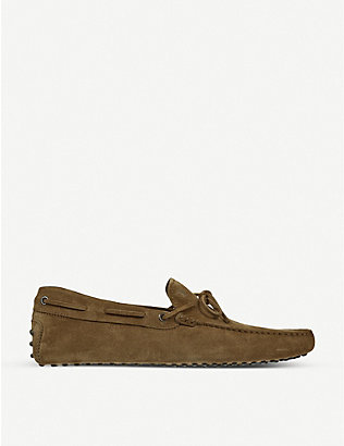 TODS: Gommino heaven driving shoes in suede