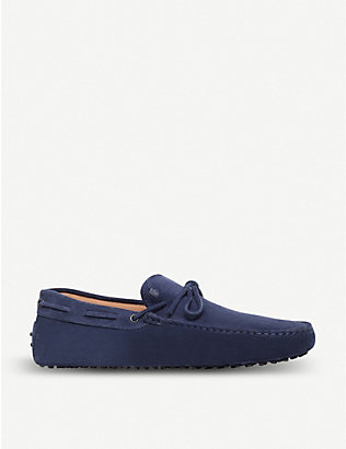 TODS: Gommino heaven suede driving shoes