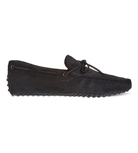 TODS - Gommino Driving Shoes in Nubuck | Selfridges.com