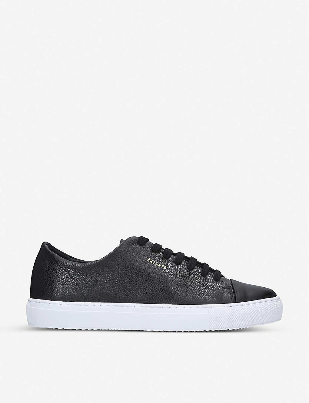 AXEL ARIGATO: Cap-toe leather trainers