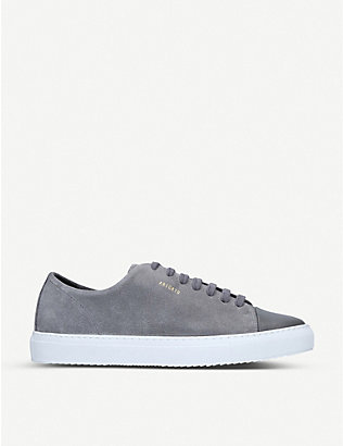 AXEL ARIGATO: Cap-toe leather and suede trainers