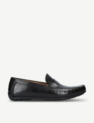 LOAKE Goodwood leather moccasins