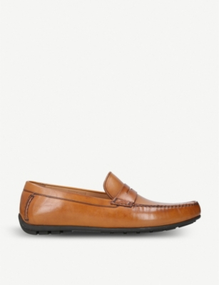 LOAKE Goodwood leather penny loafer moccasins