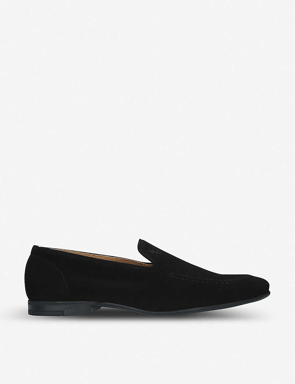 KURT GEIGER LONDON: Palermo suede loafers