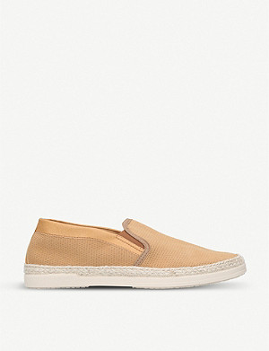 KURT GEIGER LONDON Ted perforated espadrilles