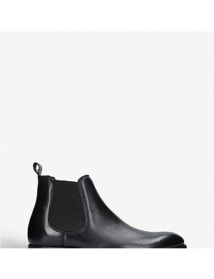 KURT GEIGER LONDON Laurence leather chelsea boots