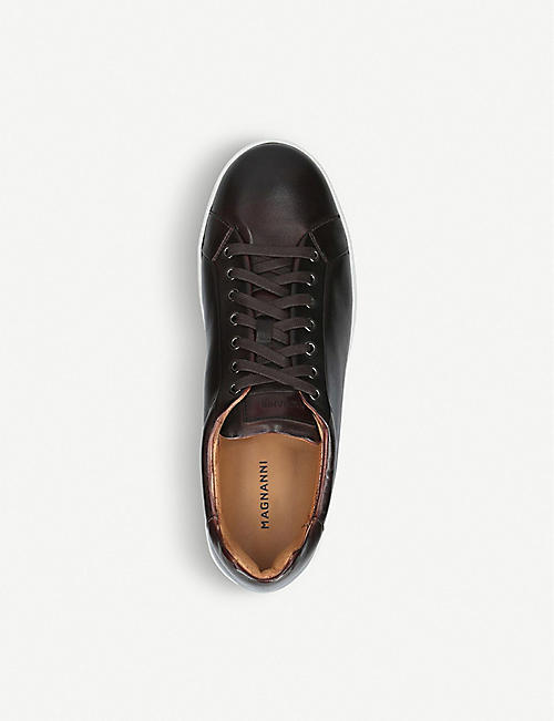 MAGNANNI Gunner Lo leather trainers