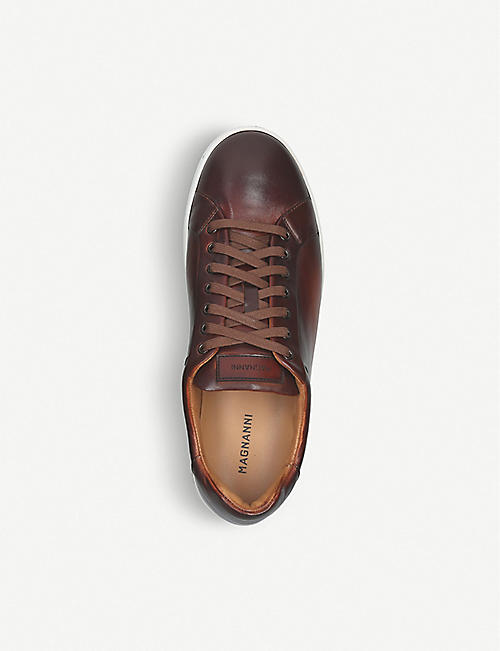 MAGNANNI Leather tennis sneaker