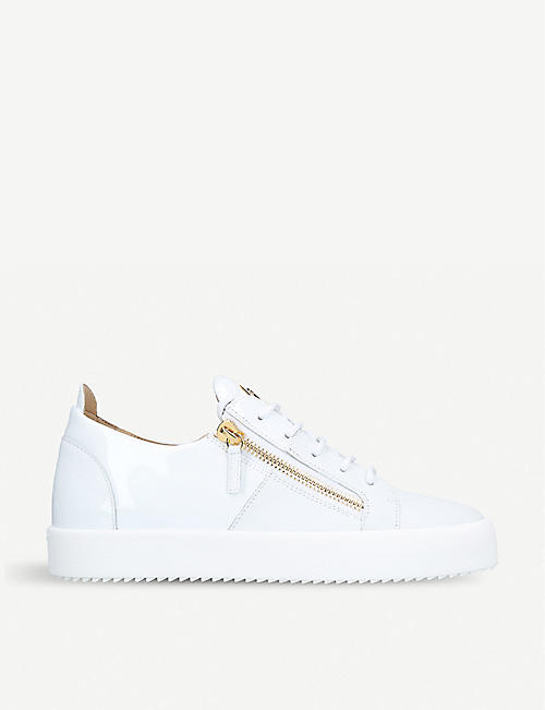 f060df93df83 GIUSEPPE ZANOTTI Signature mixed leather trainers