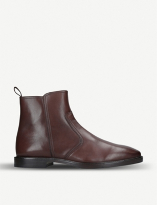 KURT GEIGER LONDON Bournemouth leather chelsea boots