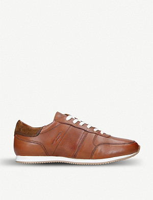 KURT GEIGER LONDON Lucas leather trainers