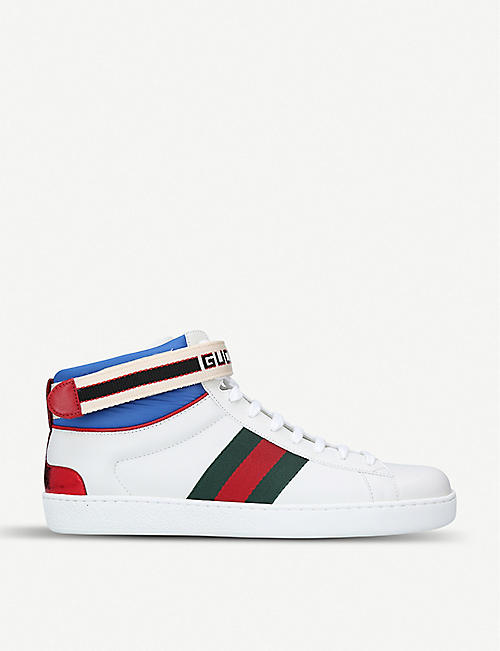 High tops - Sneakers - Mens - Shoes - Selfridges   Shop Online cc65b922d3