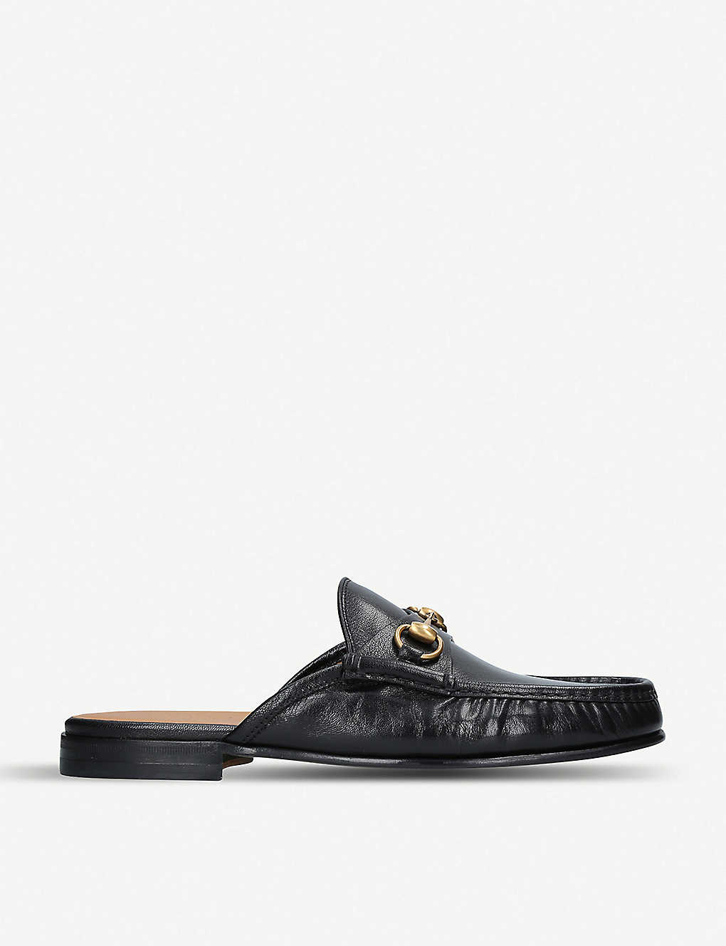 567400cdc9 GUCCI - Roos horsebit open back leather loafers | Selfridges.com