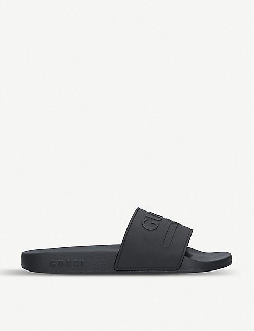3a4aefd3ffe7 GUCCI - Sliders   flip flops - Sandals - Mens - Shoes - Selfridges ...