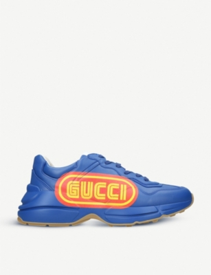 GUCCI Rython SEGA leather trainers