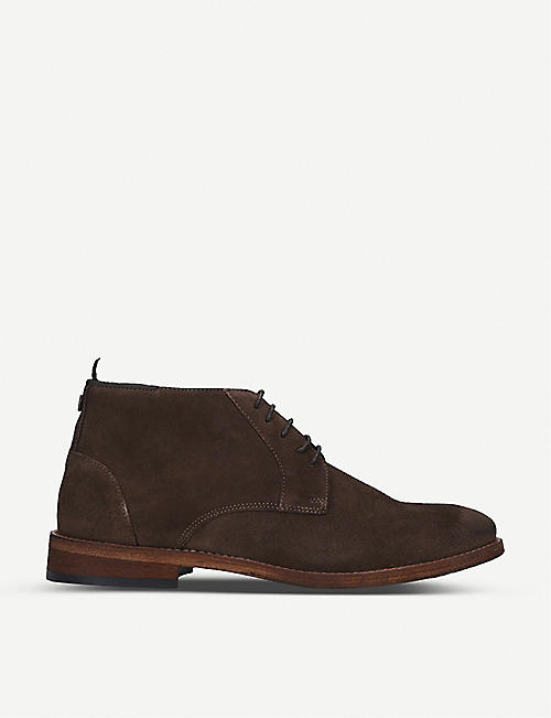 BARBOUR: Benwell suede chukka boot