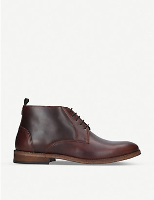 BARBOUR: Benwell leather chukka boot