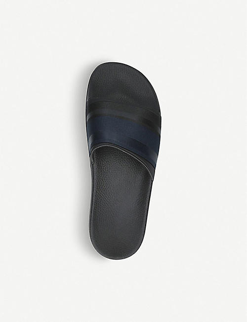 DANWARD Striped rubber sliders