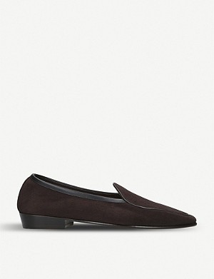 BAUDOIN & LANGE Sagan suede classic loafers