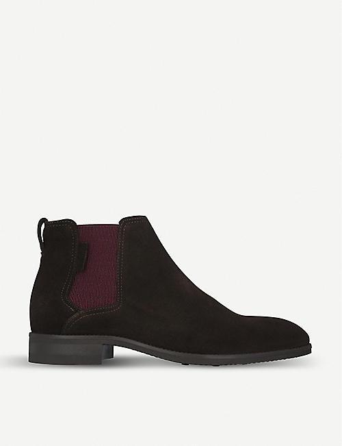 KURT GEIGER LONDON Manhattan suede Chelsea boots 29989ec5c8a5