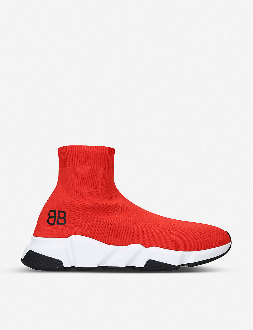 89637bbaefa1 Capsule BB Speed stretch-knit trainers - Red white black ...