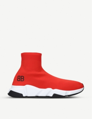 BALENCIAGA Capsule BB Speed stretch-knit trainers