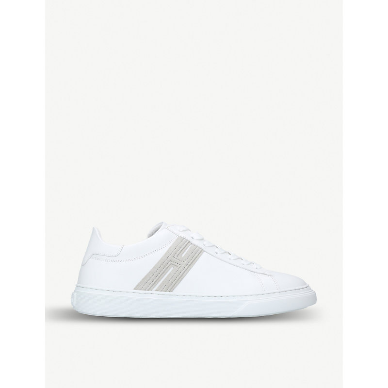 HOGAN H365 Leather Trainers in White