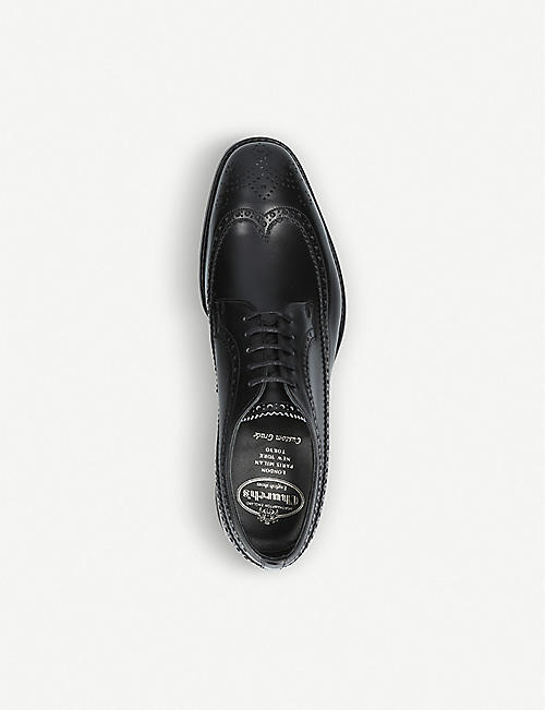 CHURCH Portmore leather brogue derby shoes