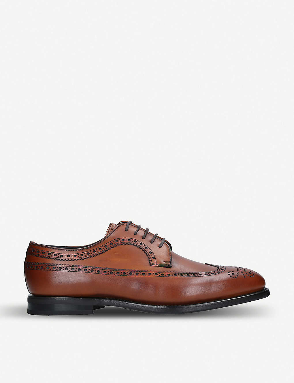 CHURCH: Portmore leather brogue derby shoes
