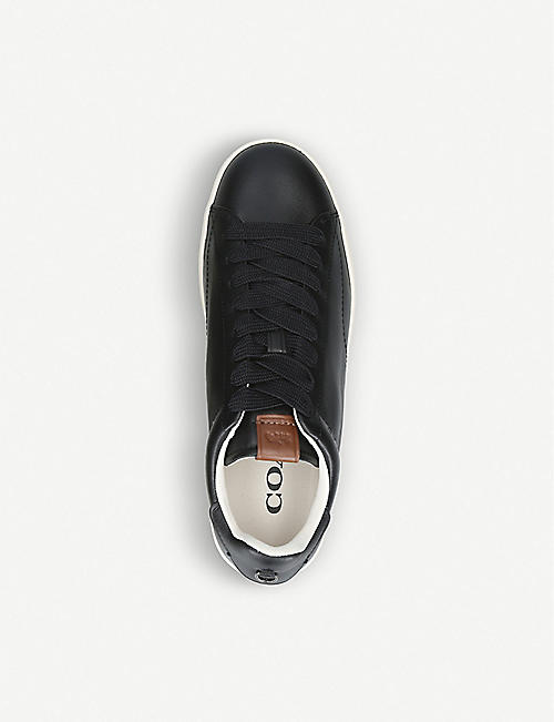 COACH C101 leather low-top trainers