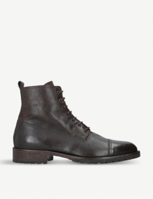 BELSTAFF Alperton leather boots
