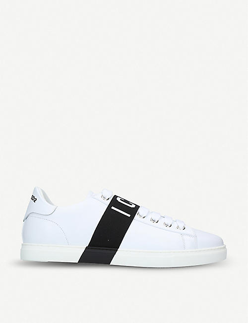 DSQUARED2 Icon leather trainers