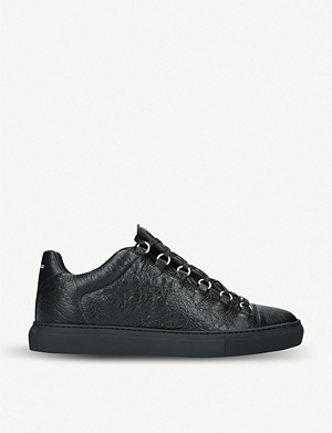 BALENCIAGA Arena leather trainers