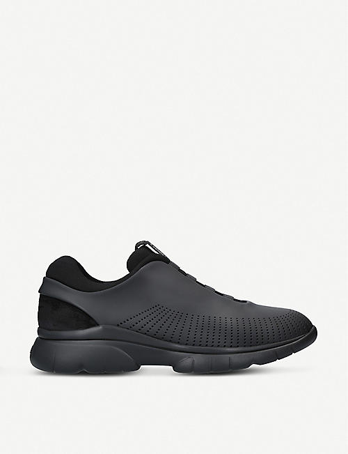 ERMENEGILDO ZEGNA: Sprinter 2.0 leather trainers