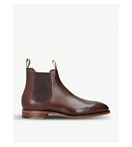 debd5fa52289 BARKER - Mansfield leather chelsea boots
