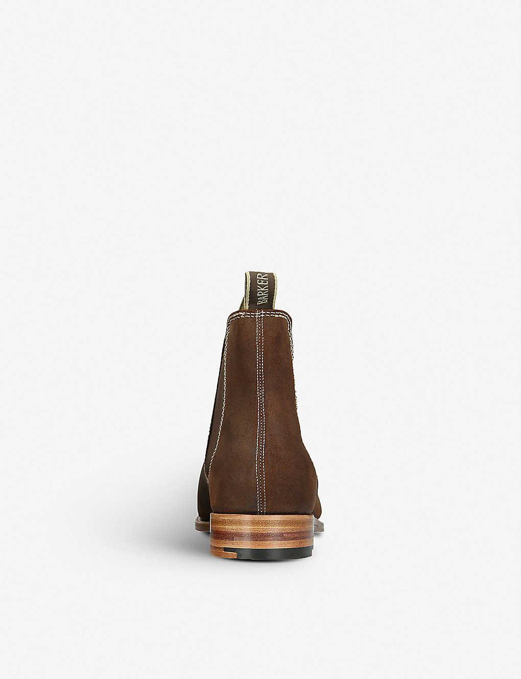 2b36267d825bc BARKER - Mansfield suede chelsea boots | Selfridges.com
