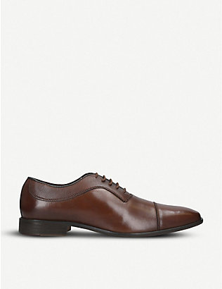 KURT GEIGER LONDON: Banbury leather Oxford shoes