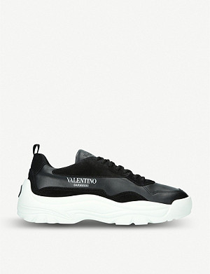 VALENTINO Bansi leather trainers