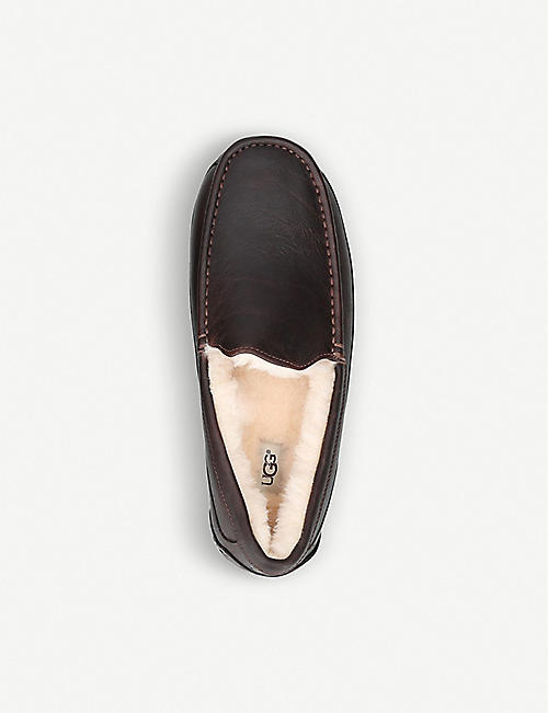 UGG Ascot suede loafers
