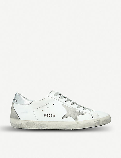 GOLDEN GOOSE Superstar 皮革运动鞋