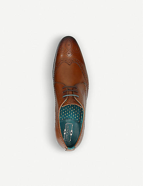 TED BAKER Hosei leather derby shoes