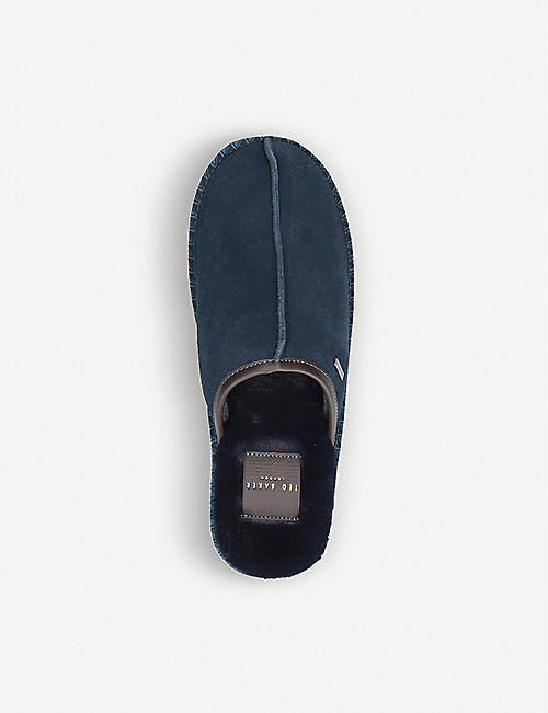 TED BAKER Parick suede slippers