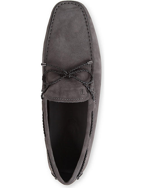 TODS Gommino heaven driving shoes in nubuck