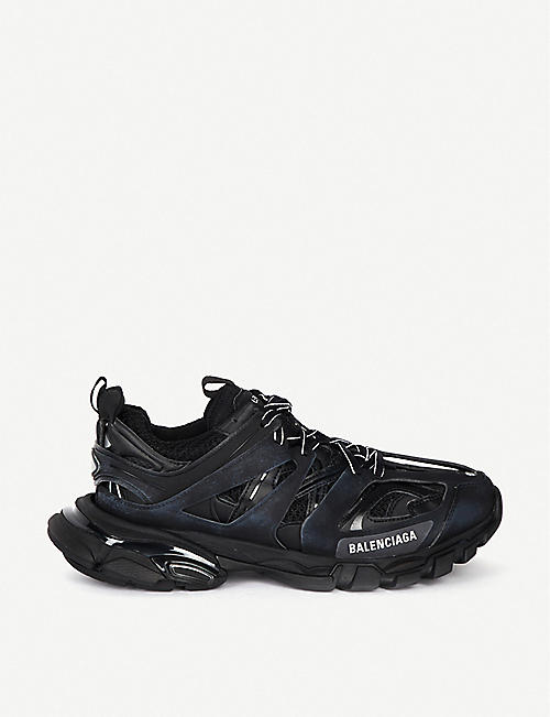 62139a898ee8 BALENCIAGA Track nylon and mesh trainers