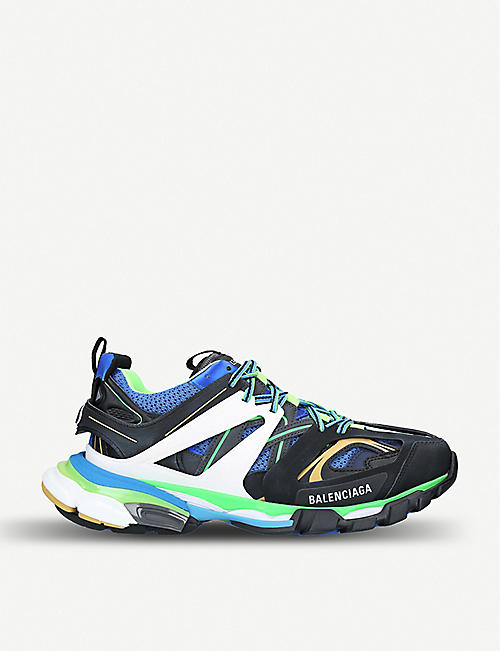 78faee8ae210 BALENCIAGA Track nylon and mesh trainers