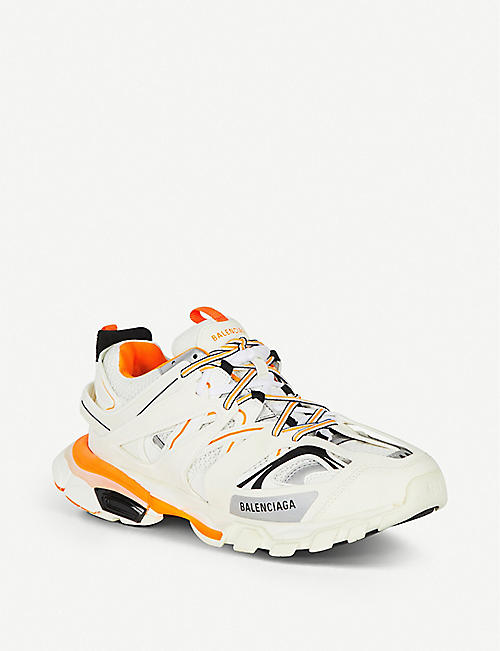 BALENCIAGA Track nylon and mesh trainers