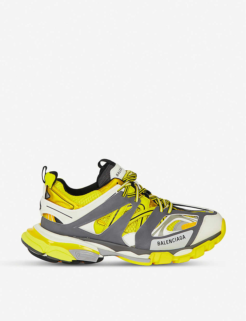2663f82fd42a BALENCIAGA - Track nylon and mesh trainers