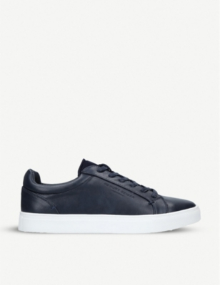 KURT GEIGER LONDON Worthing faux-leather trainers