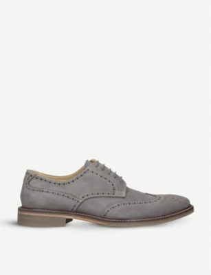 KURT GEIGER LONDON Cedric suede brogues